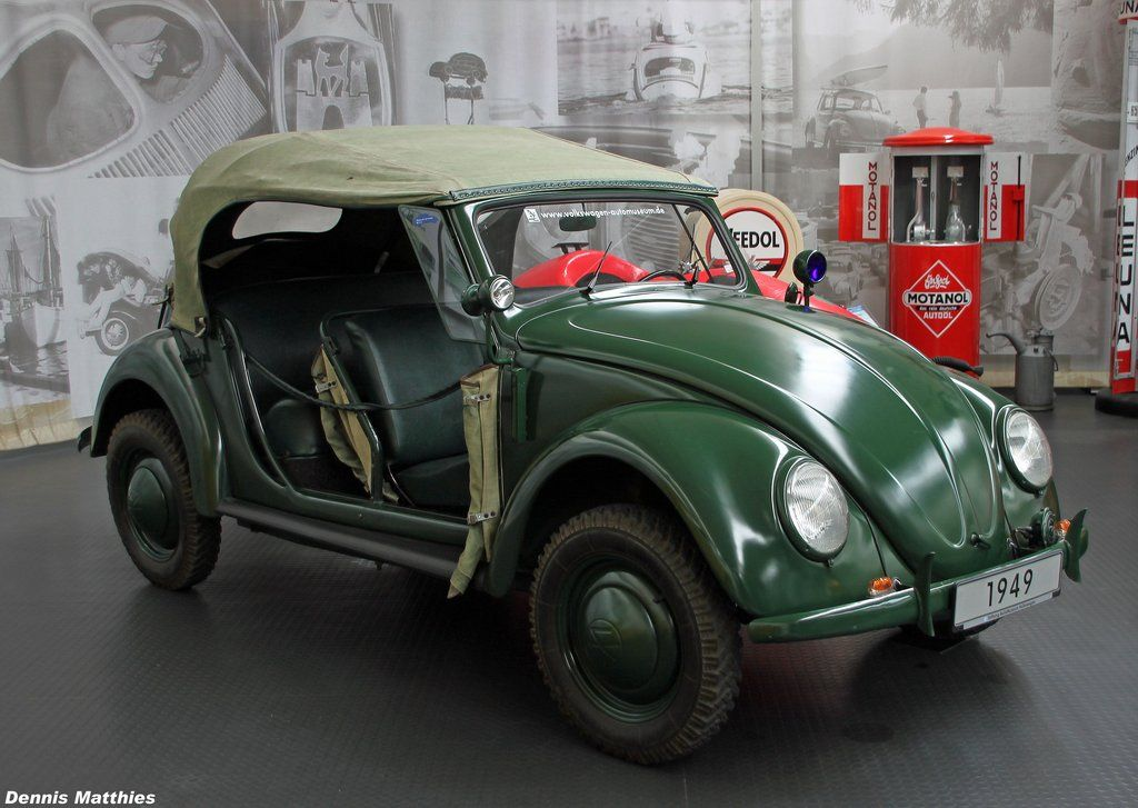 583 1949 Vw Cabriolet Beetle Police Vehicle Vw Coach