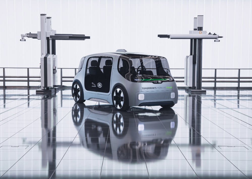 Jaguar Land Rover Designs Electric Mobility Platform For City Environments In 2020 Land Rover Jaguar Land Rover Jaguar