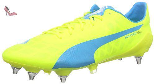 Puma evoSPEED SL Mixed SG, Chaussures de Football homme