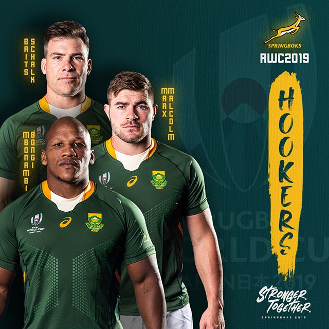 Springbok World Cup Squad Announced Are You Ready South Africa Strongertogether Rugby International Rugby Rugby Players