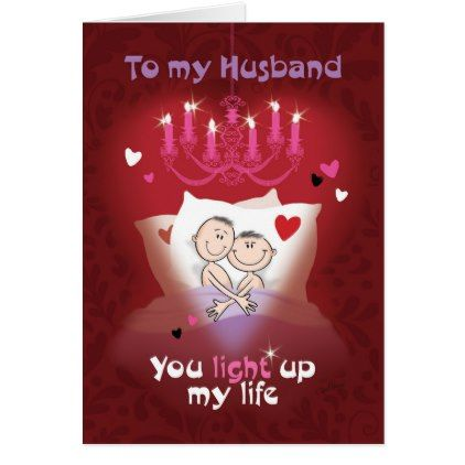 gay valentine husband fun couple in bed card couples valentine to husband