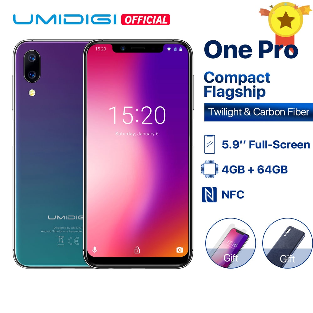 UMIDIGI One Pro Global Band 5.9 Android 8.1 wireless charge 4GB 64GB Octa Core Deals - PhoneSep.com