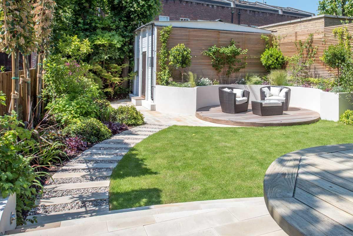 Kate Eyre Garden Design Wandsworth Sw18 Patio Garden Design Back Garden Design Contemporary Garden Design