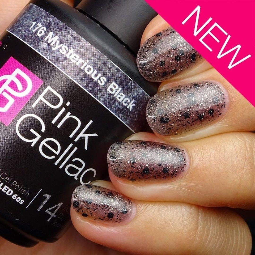 Pink Gellac 176 Mysterious Black Deze mysterieuze zwarte kleur ...