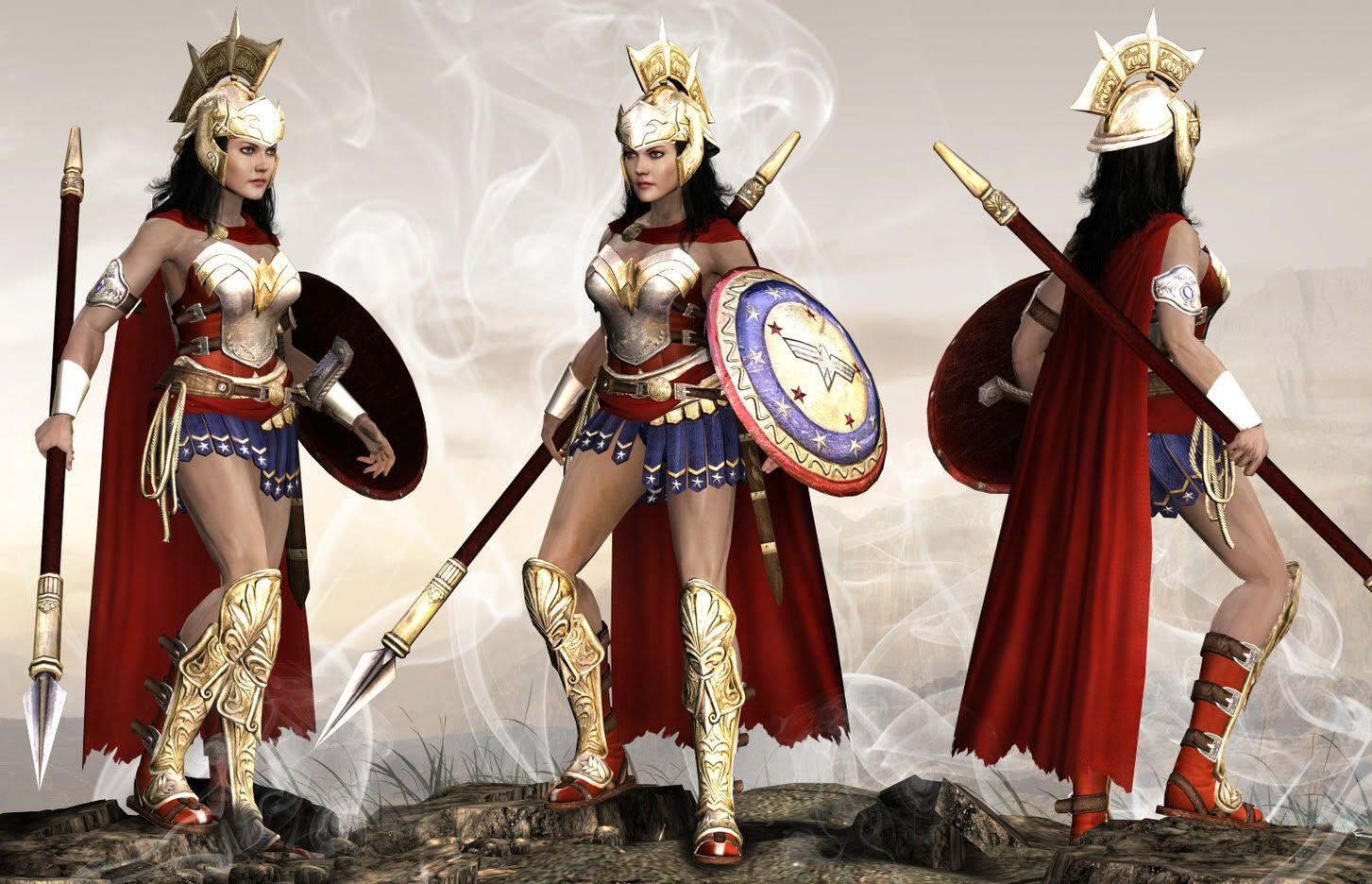 Spada Wonder Woman About Wonder Womans Spear Wonderwoman2 1 Wonder Woman