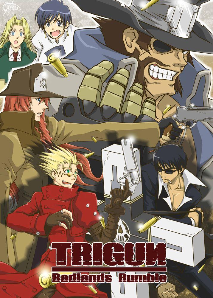 Trigun Trigun, Anime
