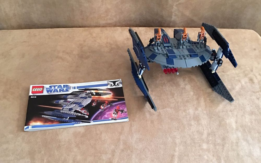 8016 Lego Star Wars Complete The Clone Wars Hyena Droid Bomber