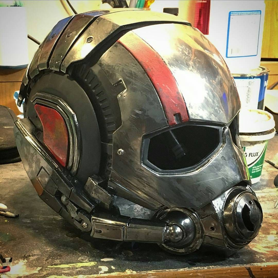 """Everything SFX on Instagram: """"Great wearable Ant Man helmet"""