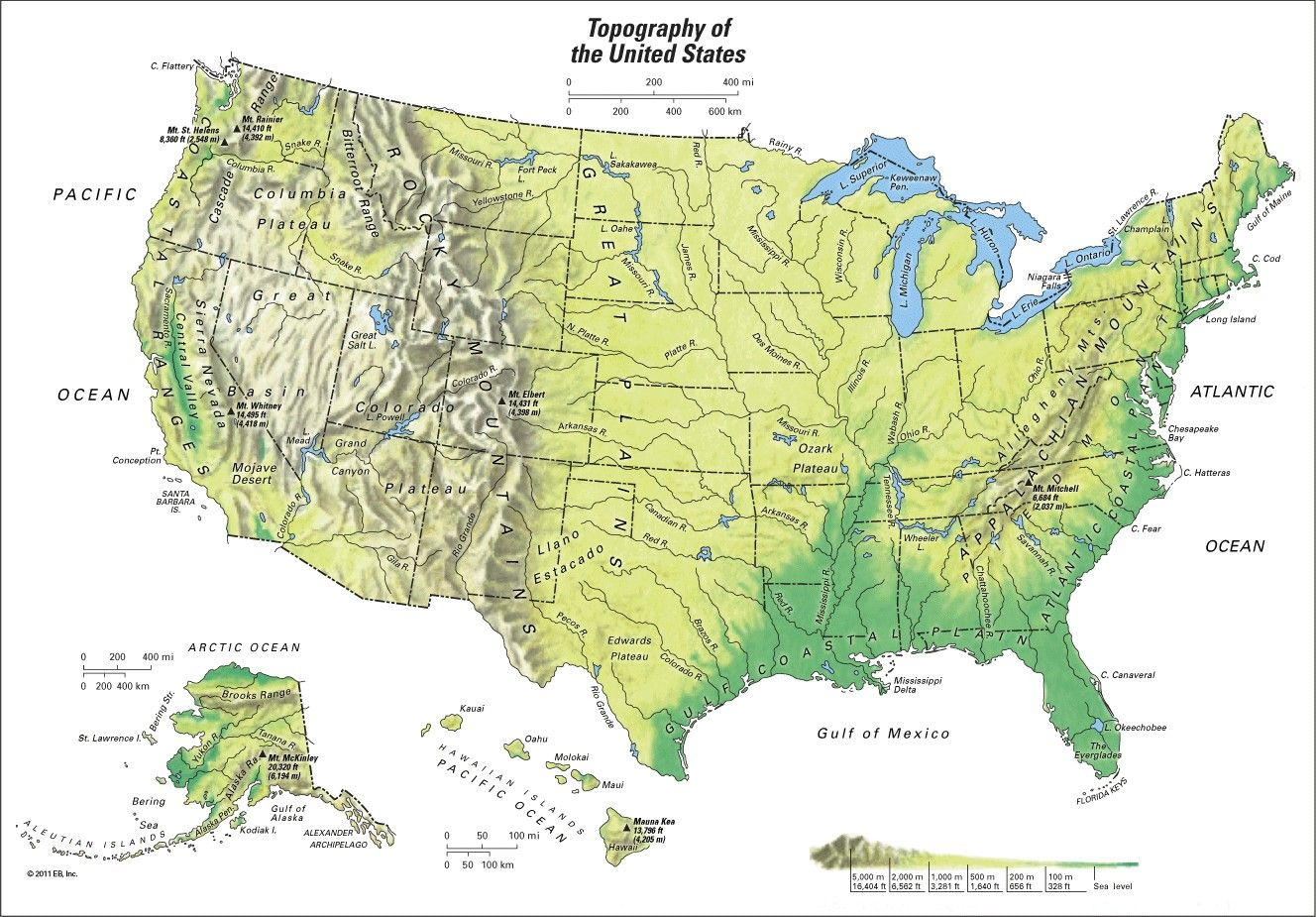 us map of mountain ranges Us Geography Mountain Ranges Us Map Viking Globe Best Showing