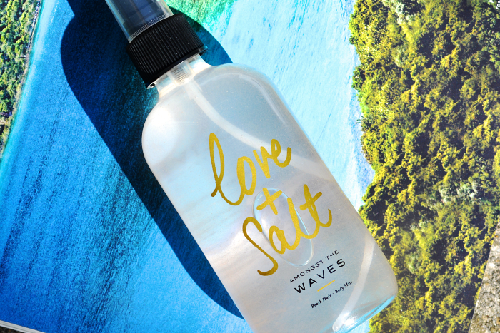 Love + Salt Beach Hair & Body Mist Body mist, Beach hair
