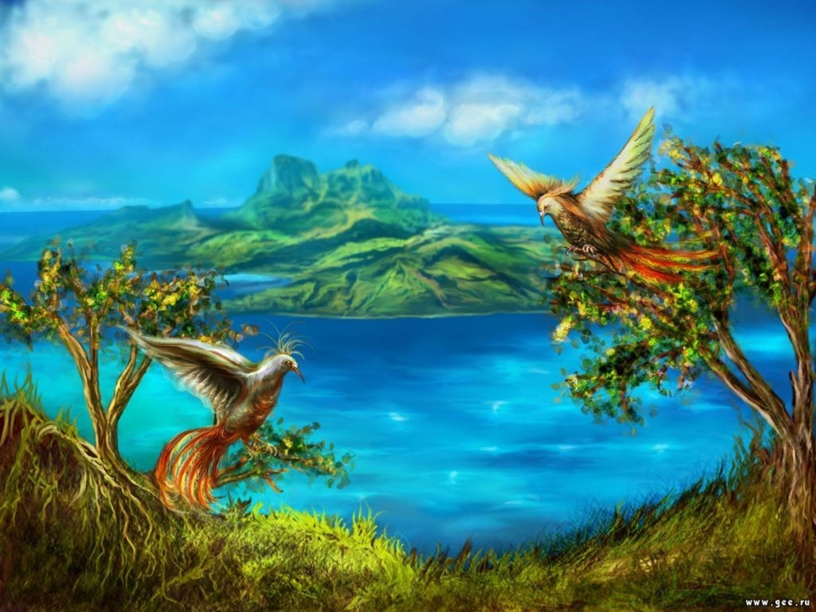 Nature Art Desktop Wallpaper Hd Wallpapers