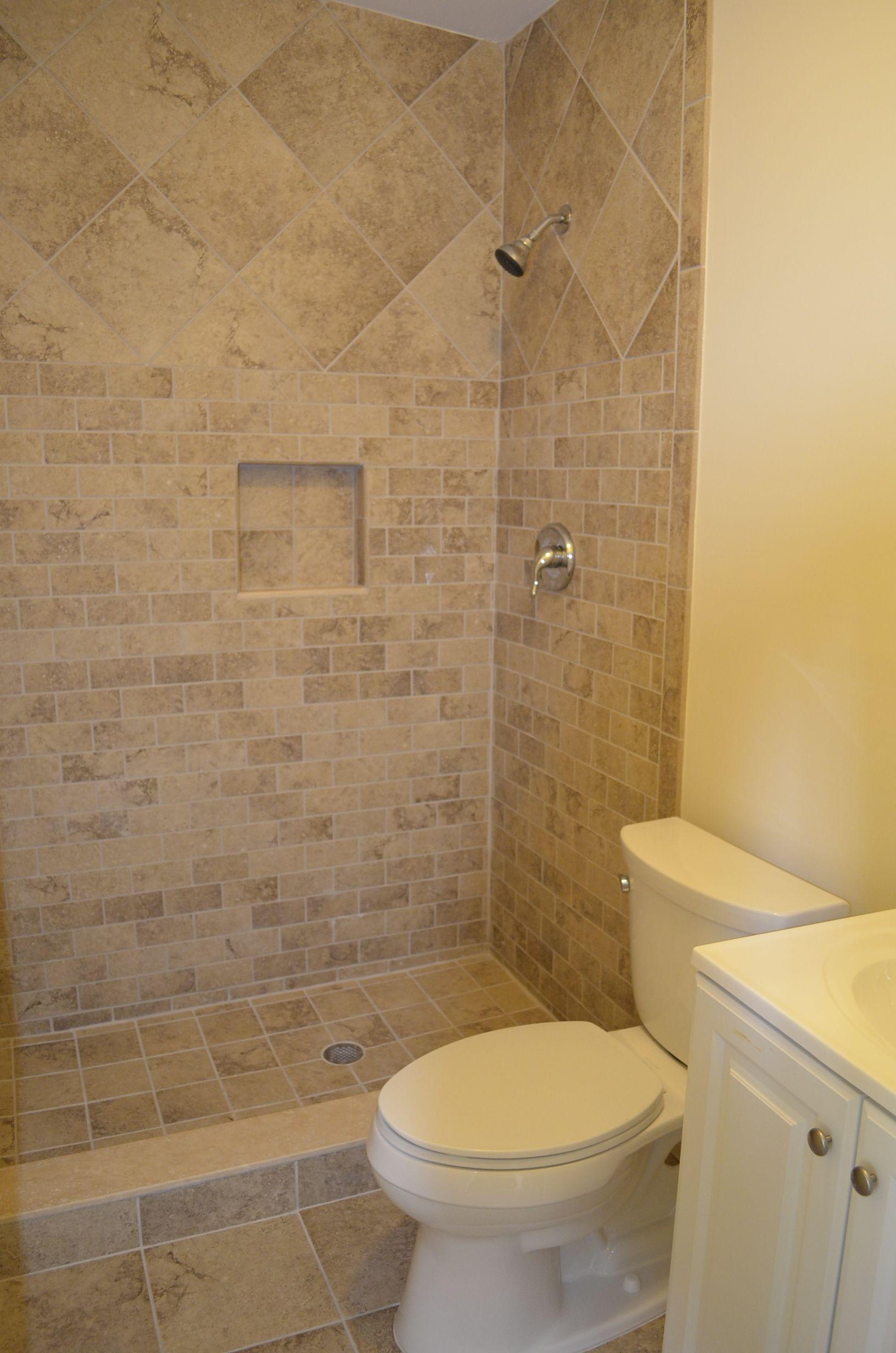 Small apartment shower bathroom design. West Palm Beach ...