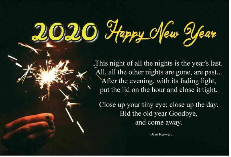Happy New Year 2020 Poems, Poetry & Prayers For Kids
