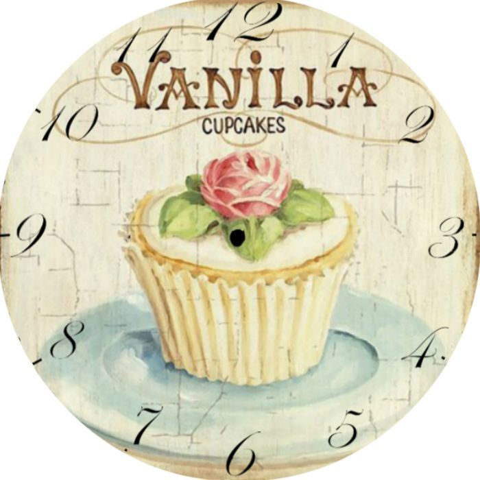 Reloj vintage de cocina relojes pinterest reloj - Relojes para cocina ...