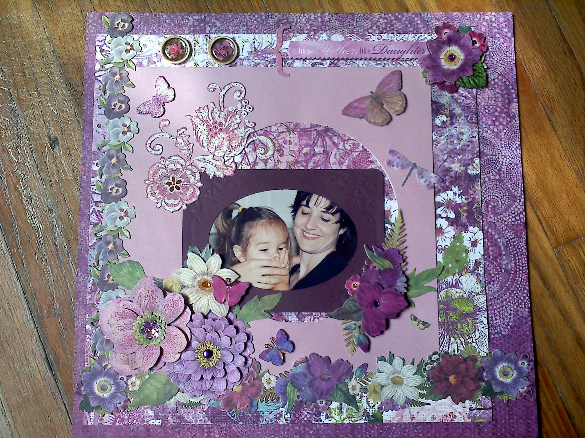 Like+Mother+Like+Daughter - Scrapbook.com
