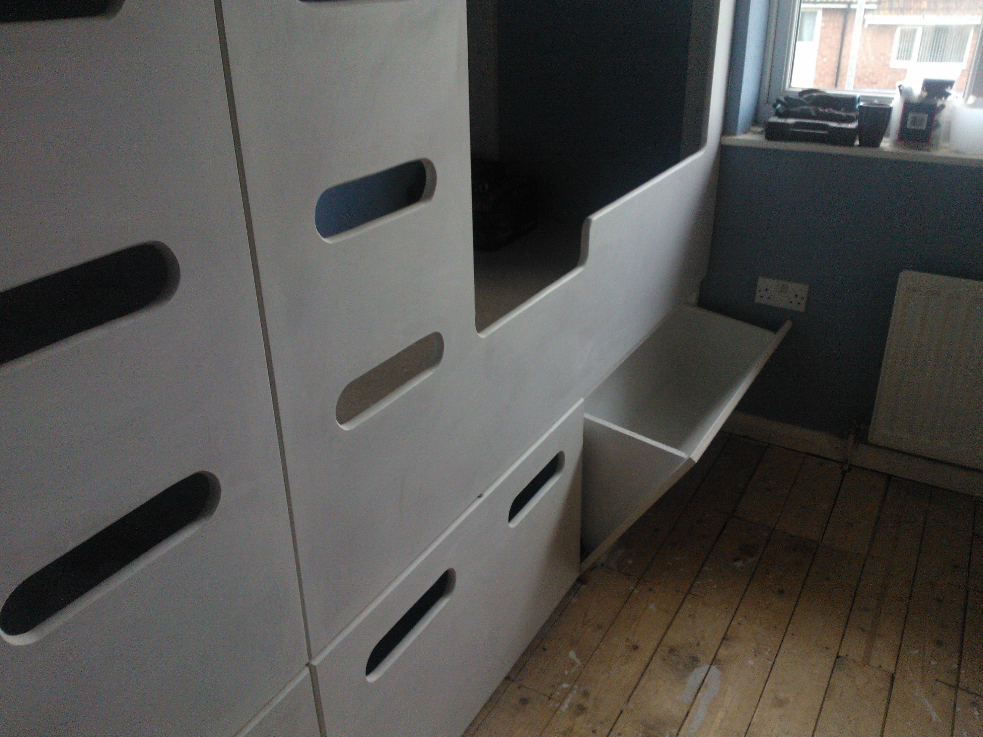 Our Custom Built 4 Bed Bunk Bed Pod With Built