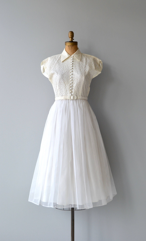 Sweet Nothing wedding gown vintage 1950s wedding dress | Wedding ...