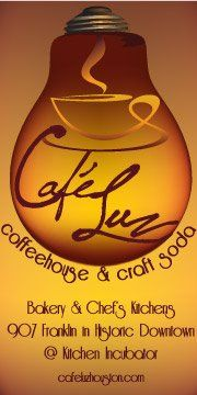 Luz Logo With Images Soda Fountain Coffee Shop