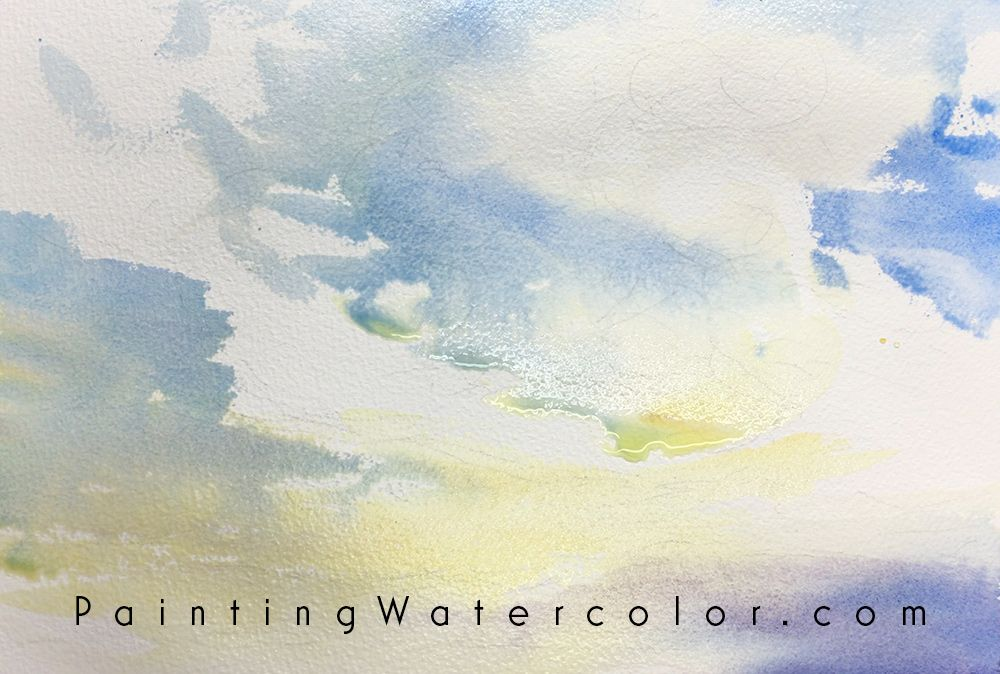 Sunset Clouds Watercolor Painting Lesson 2 Comment Peindre