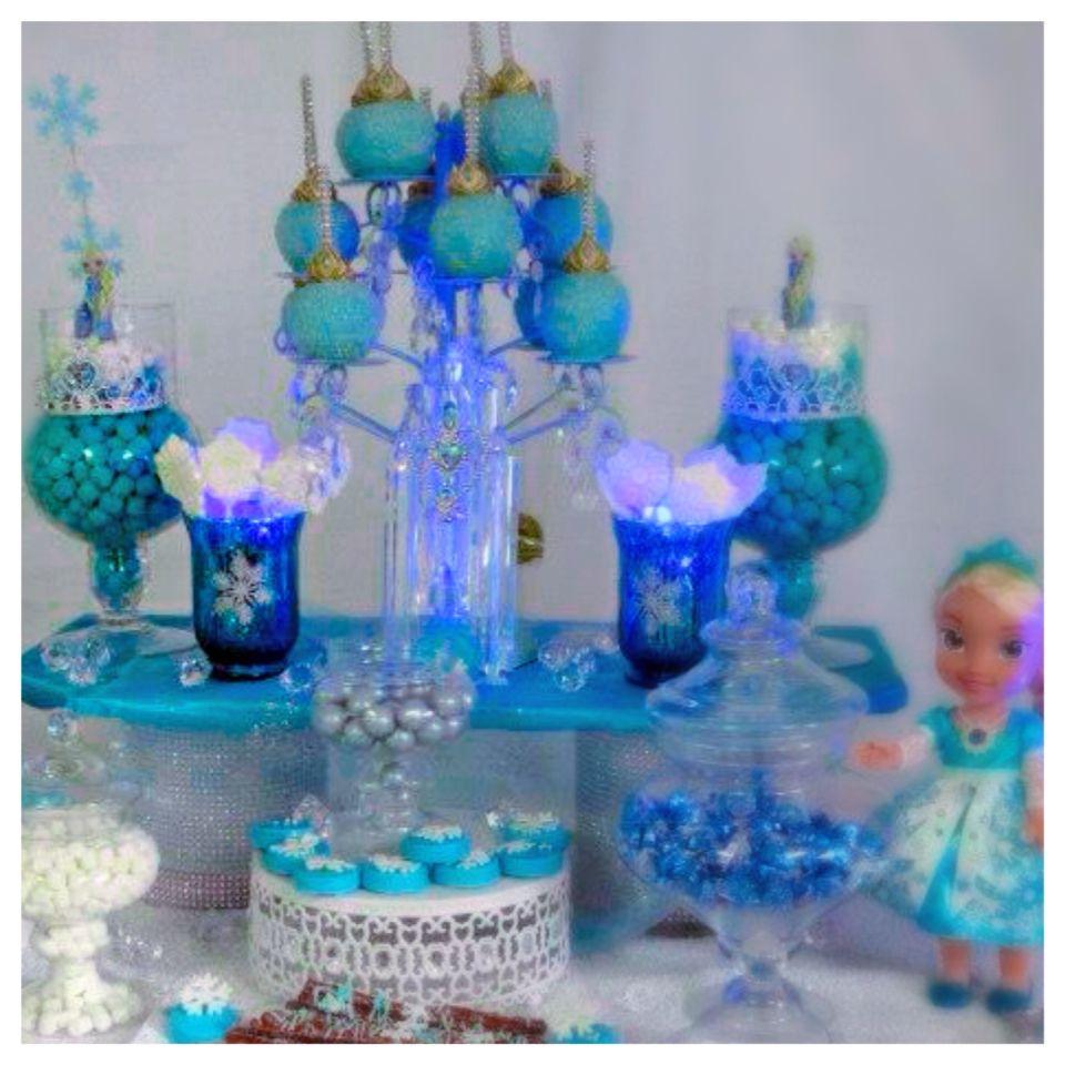 Frozen Candy Table Frozen Candy Table Frozen Birthday Frozen Party