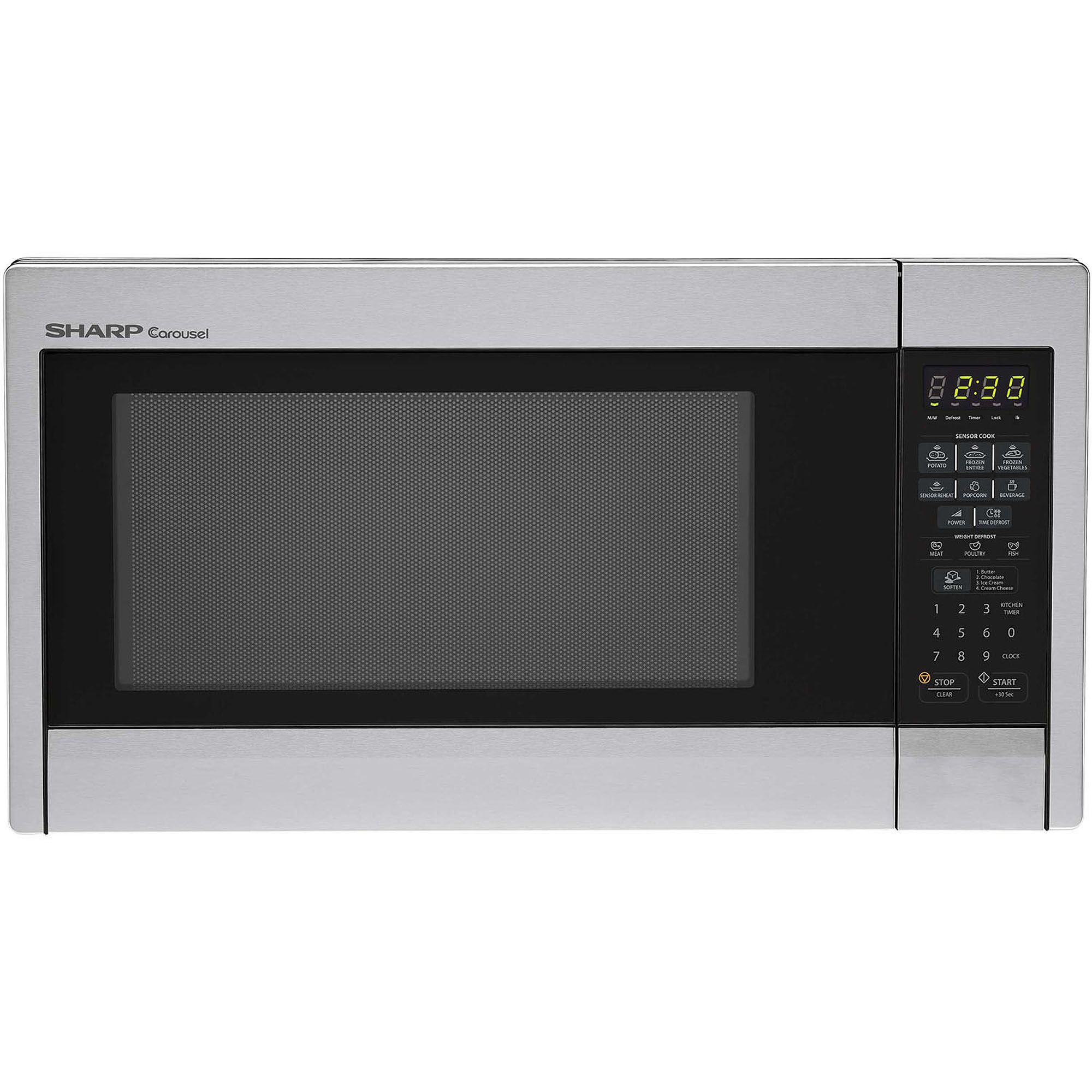Sharp R451zs Carousel 1 3 Cu Ft 1000w Countertop Microwave