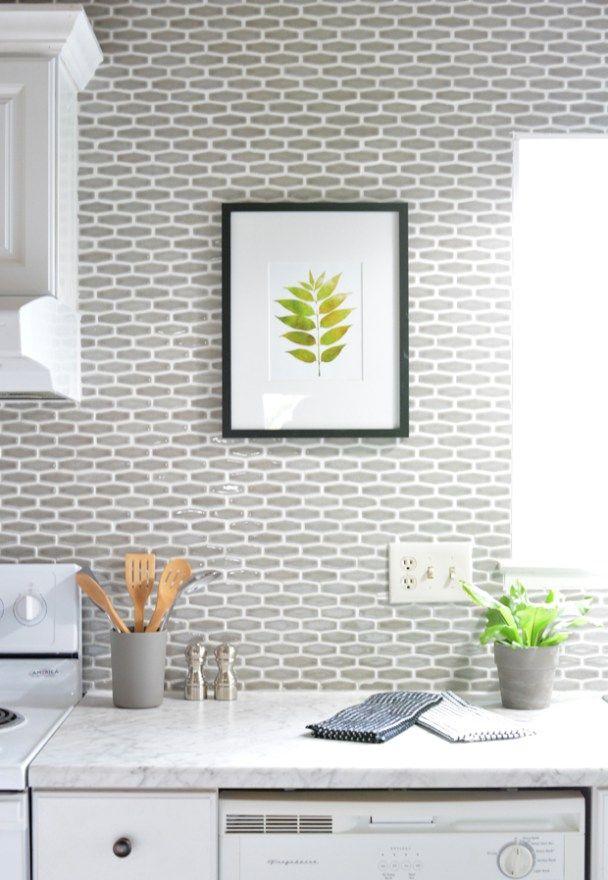 Budget Kitchen Makeover Centsational Style Kitchen Tiles