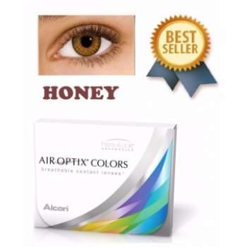 Air Optix Colors Honey 4 75 Monthly Color Lens 2pcs Box August 2019 Soft Contact Lenses Color Lenses Contact Lens Brands