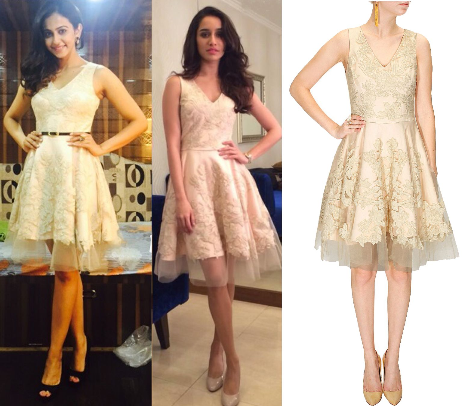 Who wore it better shraddha kapoor and rakul preet both look cute