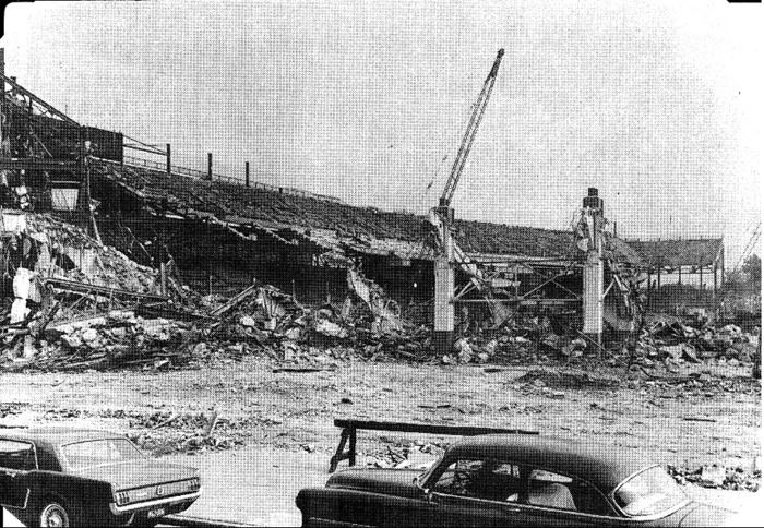 Sportsman Park St. Louis, MO demolished 1966