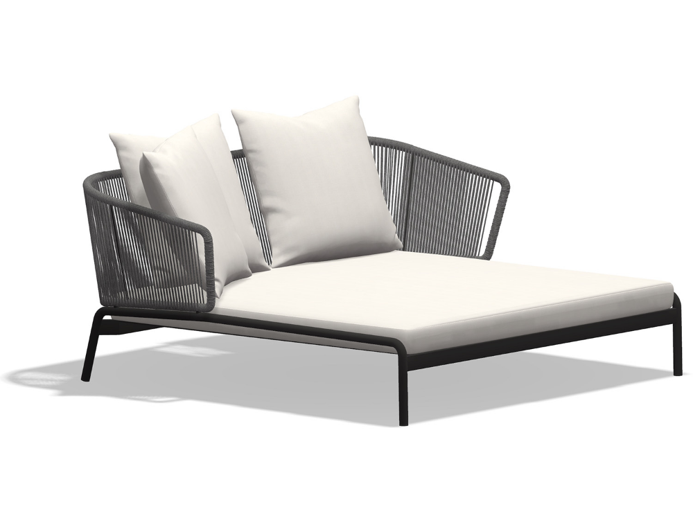 Backless Double Ended Chaise With Contrast Piping From Www Thechaiselongueco Co Uk Chaiselongue Inte Modern Chaise Lounge Chaise Lounge Chaise Lounge Sofa