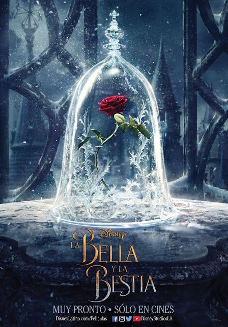 Descubre aquí el primer afiche promocional de La Bella y la Bestia - Estreno en cines marzo 2017 - Hojas Mágicas