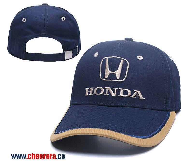 Honda Adjustable Snapback Hat in Blue Adidas Baseball 96f7e68d962