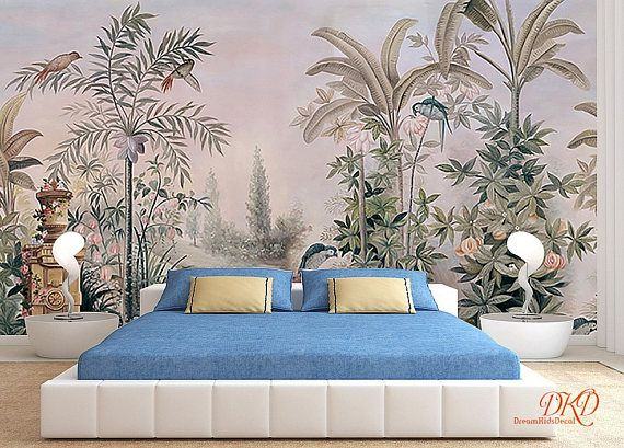 Wall coverings wallpaper wall murals removable vintage wall