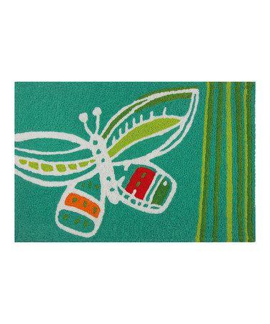 Loving this Gossamer Wings Rug on #zulily! #zulilyfinds