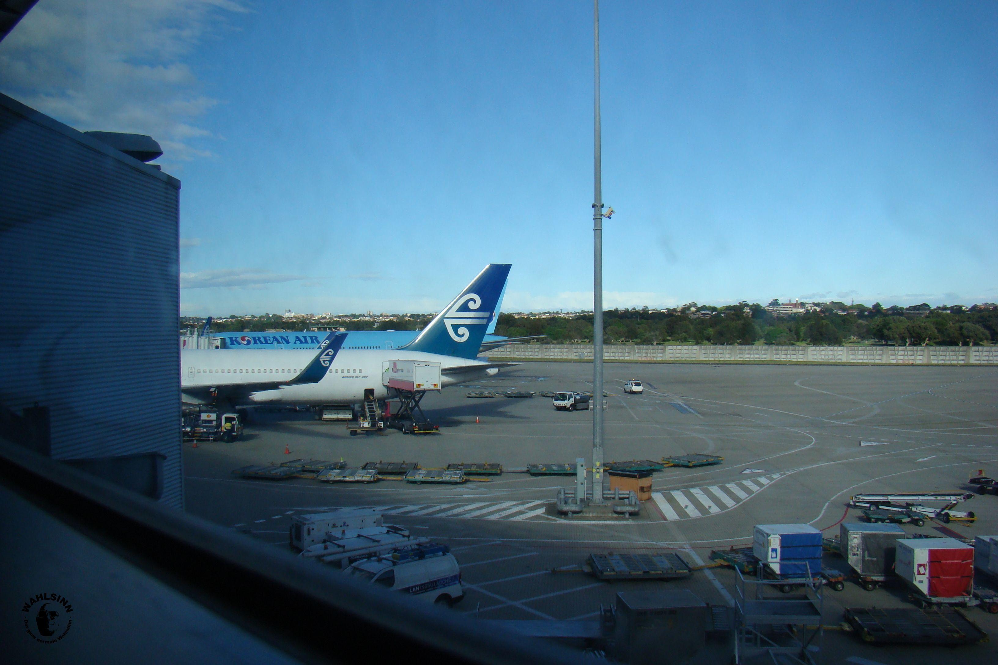 Neuseeland - Zwischenlandung in Sydney
