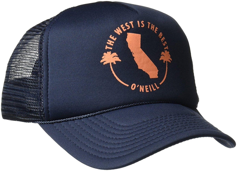Oneill womens haven screen print trucker hat eclipse dark navy jpg  1500x1084 Oneill trucker hat womens b1ba9831a108