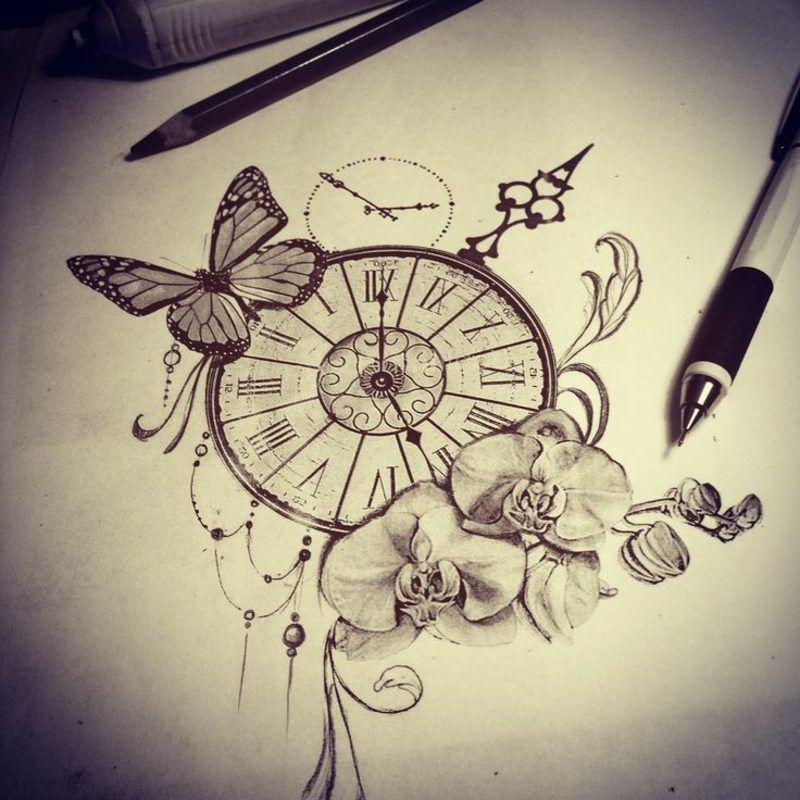 Photo of Tatuaje de Orquídeas – Ideas, diseños y significados — Tatuajeclub.com