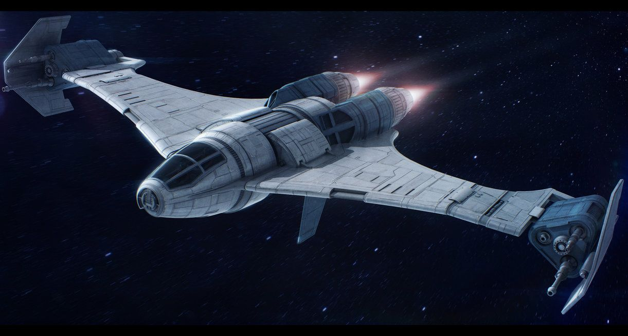 Sienar design systems havoc tie series starfighter 3d render of an original model commissioned by link to the commissioner s page with stats if yo