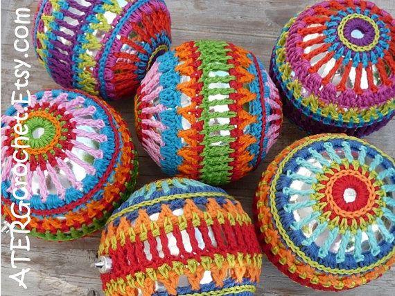 Crochet pattern Christmasball L par ATERGcrochet par ATERGcrochet