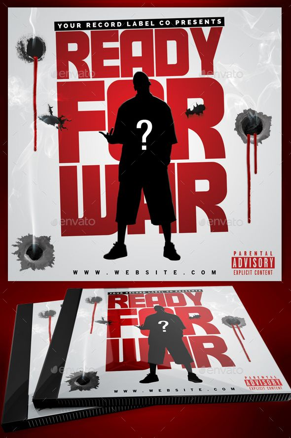 mixtape hip hop cd cover ready for war mixtapes cover cd template download