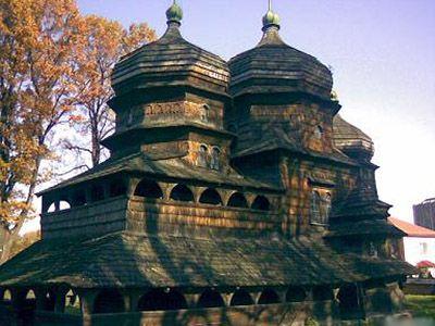 Ukrainian churches - 10 Ukrainian Wooden Churches