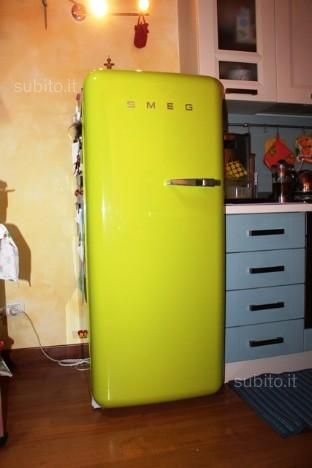 frigo smeg verde lime elettrodomestici in vendita a. Black Bedroom Furniture Sets. Home Design Ideas