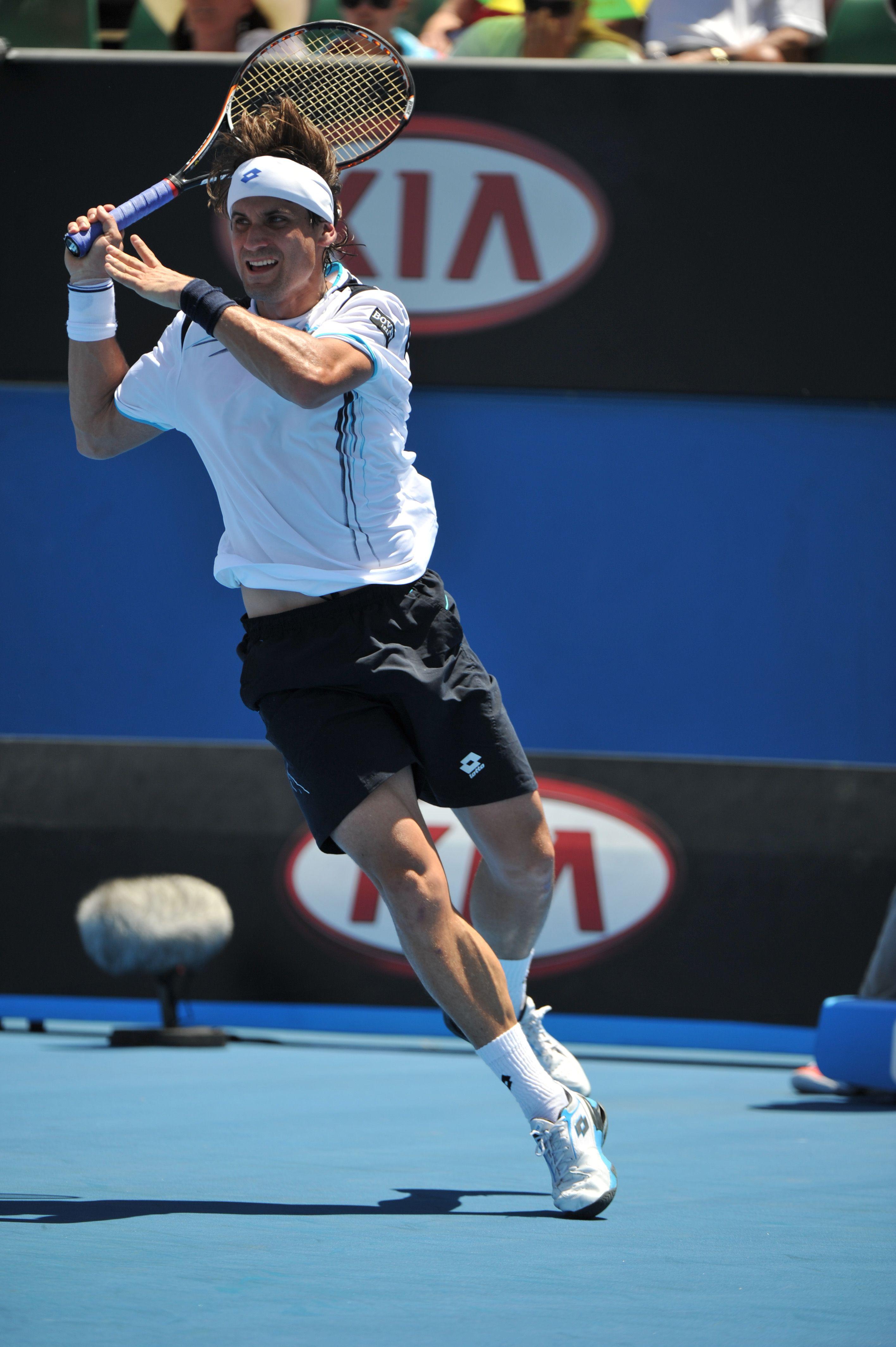 David Ferrer @ Australian Open 2012 - Lotto Sport Italia