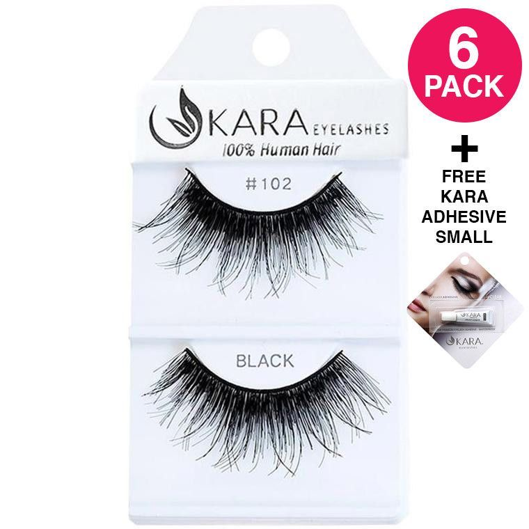 e797c617745 Kara Beauty Human Hair Eyelashes #102 | Products | Pestañas