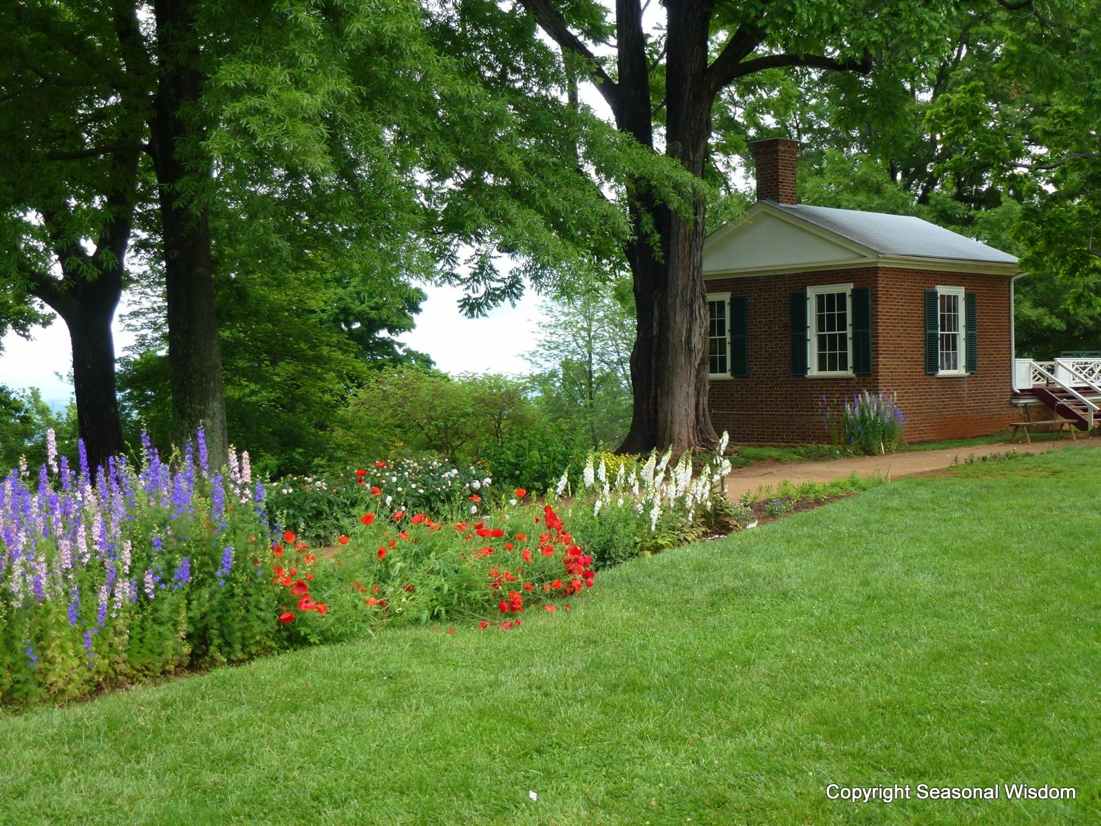Monticello Garden Beds. Tour With Peter Hatch, Who Restored The Historic  Landscape.