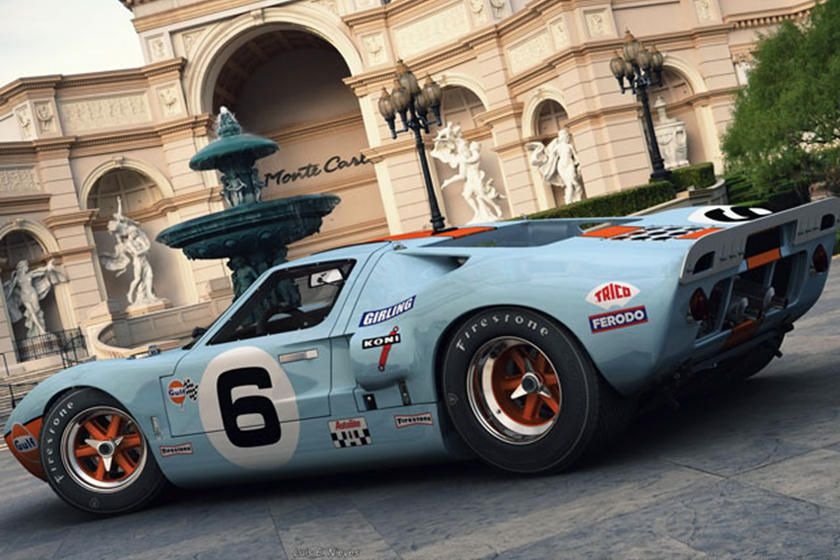 Ford Gt40 Rendering Is An Automotive Masterpiece Carbuzz Ford Gt40 Ford Gt Ford Classic Cars
