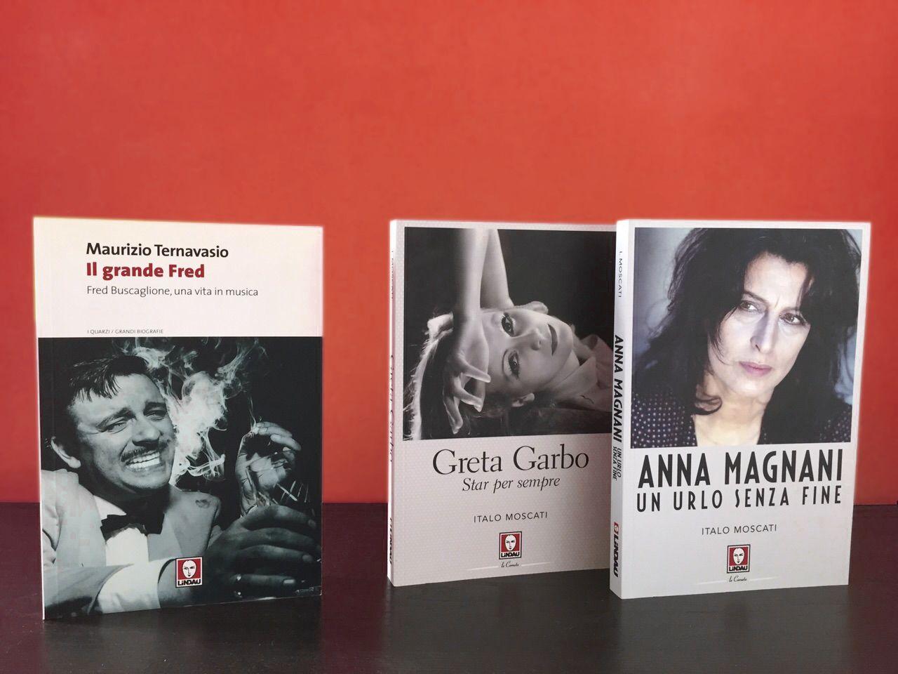"""""""Il Grande Fred"""", """"Greta Garbo"""" e """"Anna Magnani"""". 3 biografie #musthave #cinema #musica #biografie"""