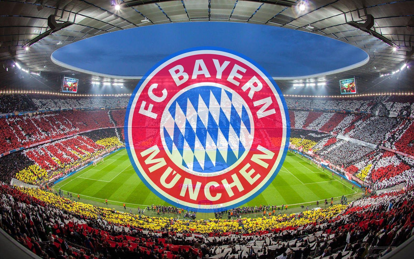 Bayern Munchen Hintergrund Mit Allianz Arena Fc Bayern