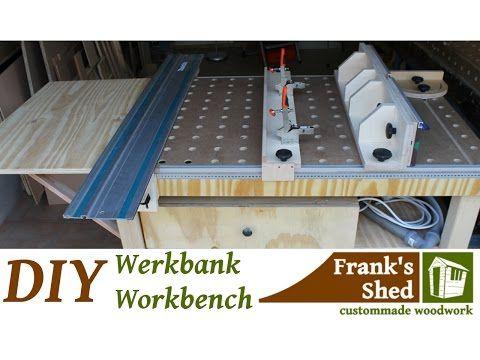 Mobile werkbank selber bauen  78) ☡ DIY Mobile Werkbank selber bauen / Mobile Workbench ...
