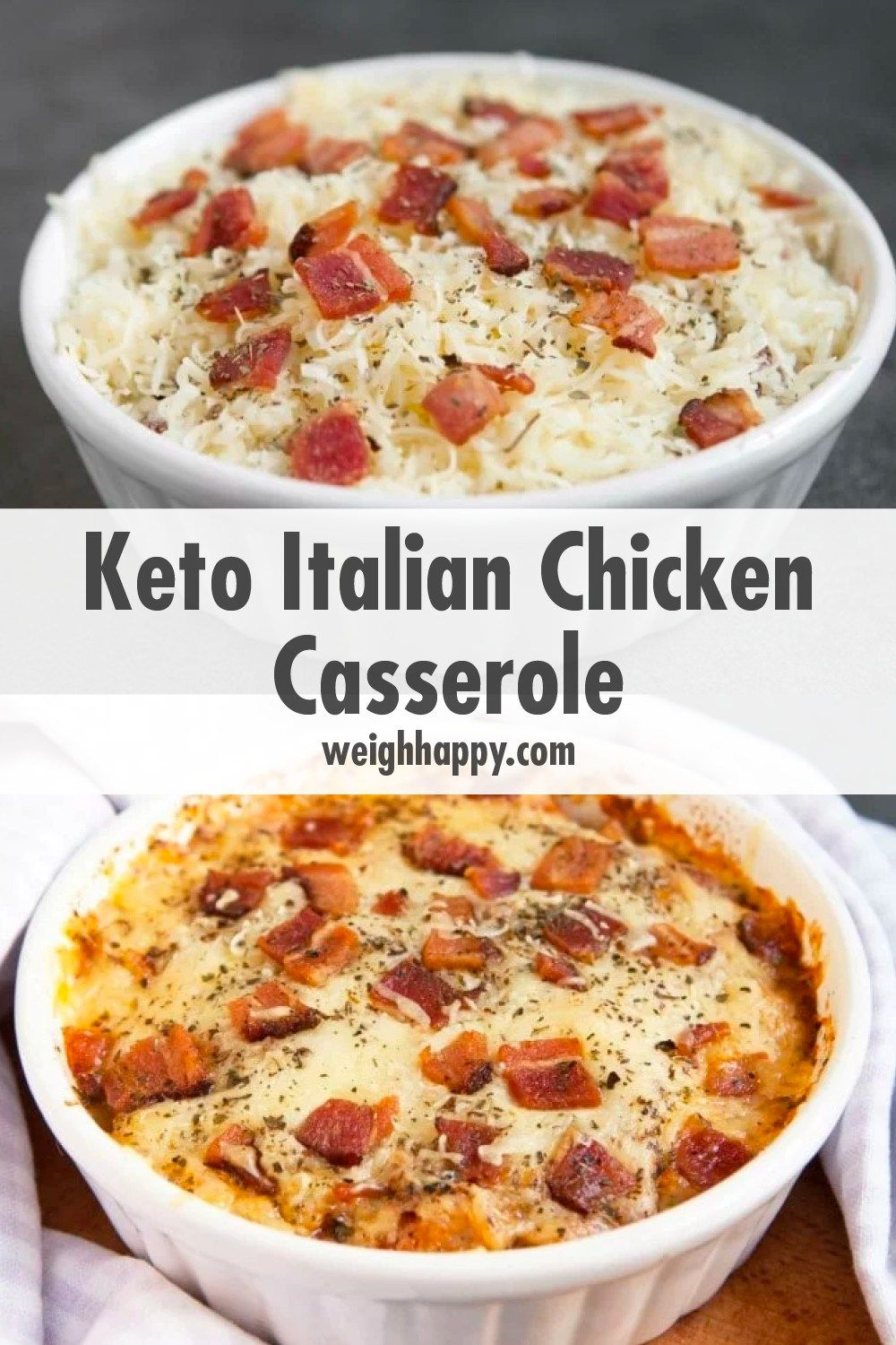 Photo of Keto Italian Chicken Casserole Great Flavor Low Carb – To Better Health